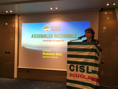 CISL - ASSEMBLEA NAZIONALE RICCIONE